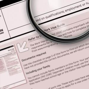 U.S. Visa Application Forms